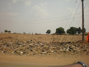 The aftermath of demolitions near Idu, outside Abuja (March 2010)